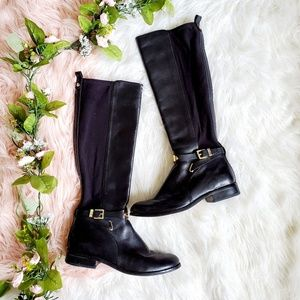Michael Kors Black Arley Stretch Boots